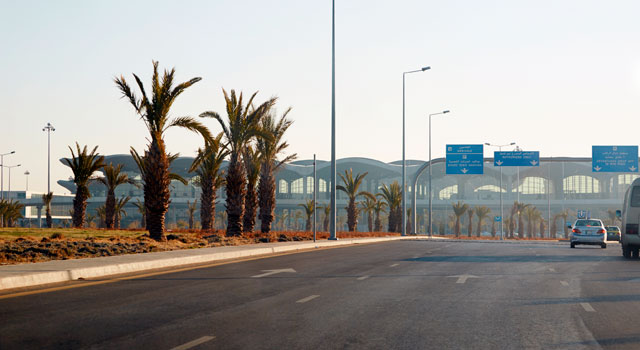 Queen Alia International Airport (IATA: AMM) is the biggest airport in Jordan.